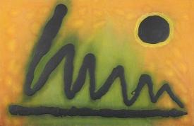 signature  125 x 81 cm.